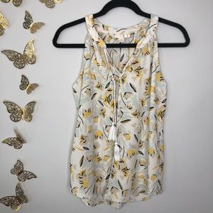 🦋🌙 C&E   Sleeveless Floral Print Top